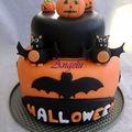 Gâteau 3d halloween 2010