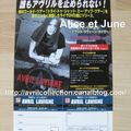 Fiche Promotionnelle japonaise - My World