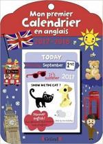 Mon premier calendrier anglais couv