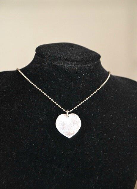 Coeur en argent 925 - 30 euros