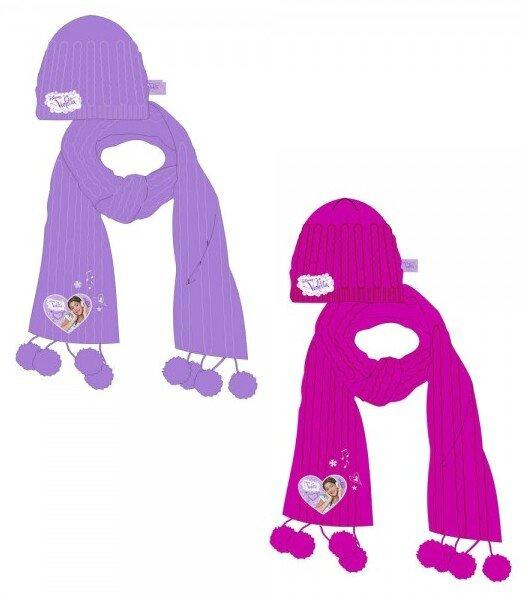 violetta bonnet & echarpe