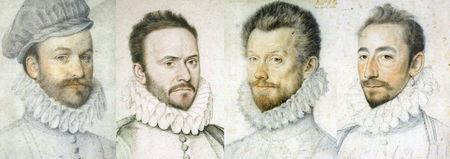 Fraise de 1575 à 1576