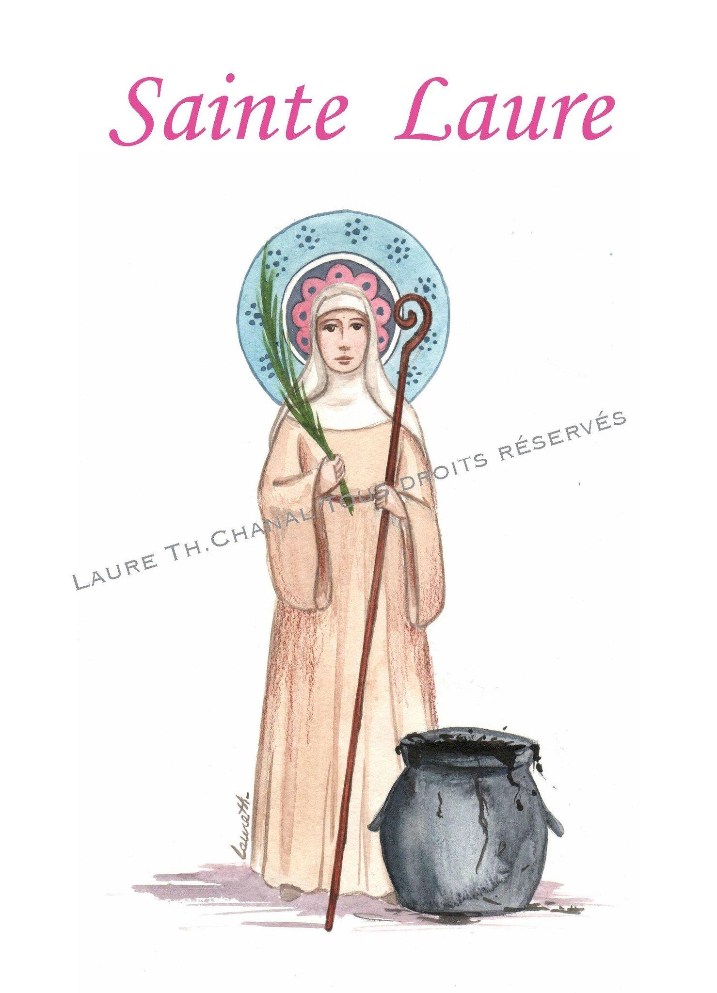 Sainte Laure, martyre à Cordoue