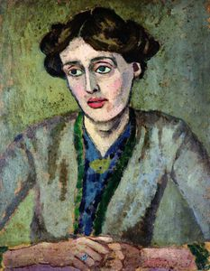 Portrait de Virginia Woolf par Roger Fry
