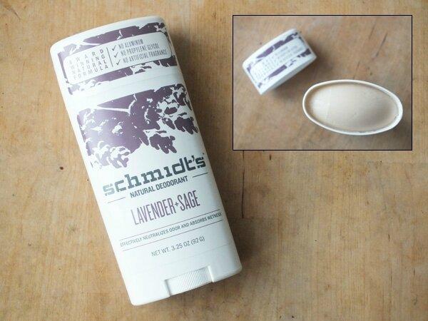 4 Déodorant Stick Schmidt's Lavande Sauge