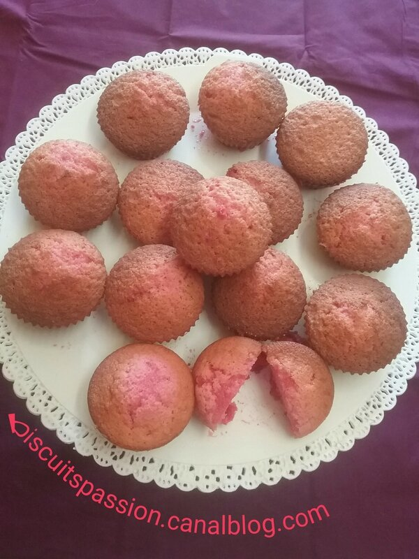 Muffins girly aux pralines 127
