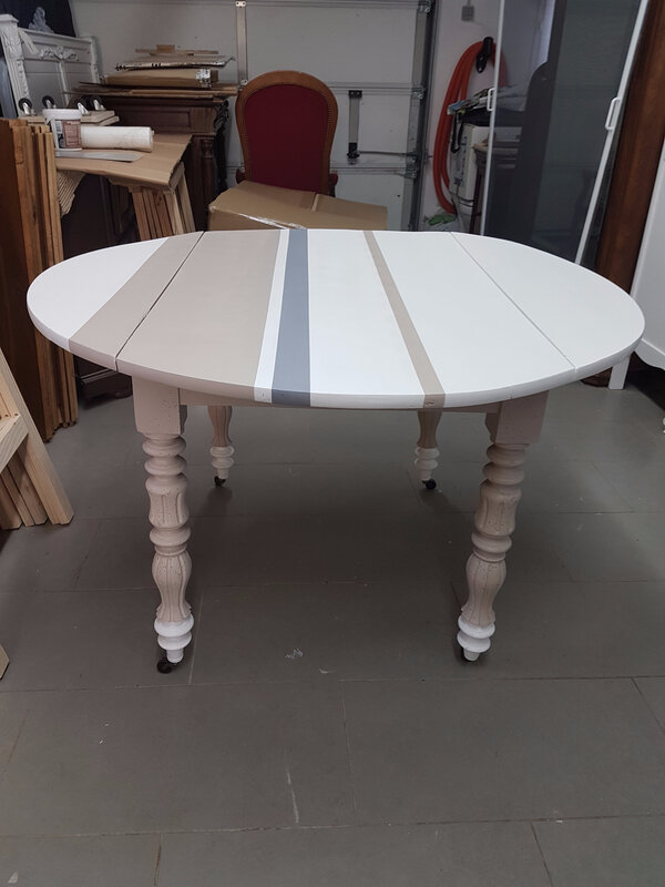 Table ronde relookée