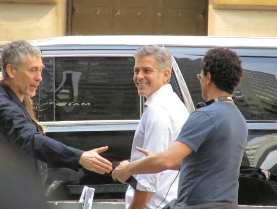 George Clooney on location: Money Monster NYC April 18, 2015 - Page 2 103645048