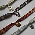 Bracelets médailles pieuses
