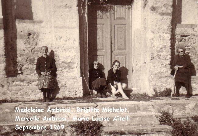 08 Madelei Ambr, Brigitte Michelot, Marcelle Amb, x - sept 69