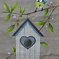 Thérèse. cabane à oiseaux