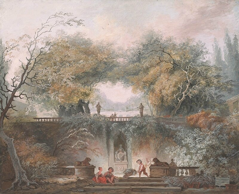 18-Fragonard-Interior-of-a-Park