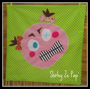 COUSSIN COLERE fille