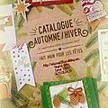 Catalogue automne hiver 2016 stampin up!