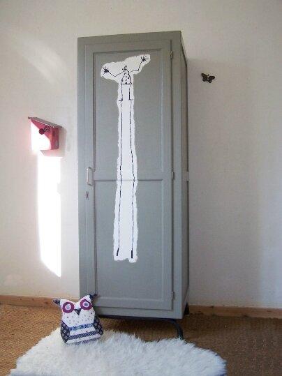 R novation d 39 une seconde armoire ma tre d 39 cole gris - Dessin d armoire ...