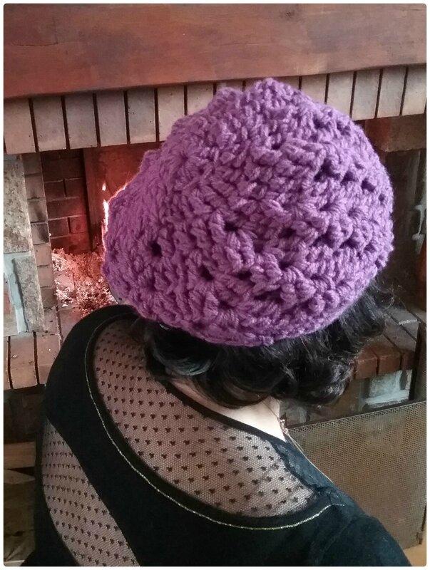 Bonnet au crochet Cam&Drey bricolent