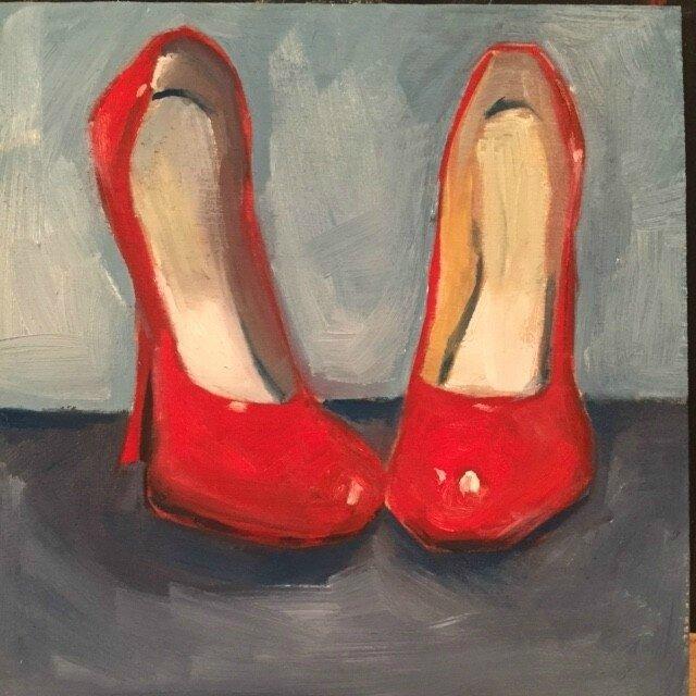 Les chaussures rouges