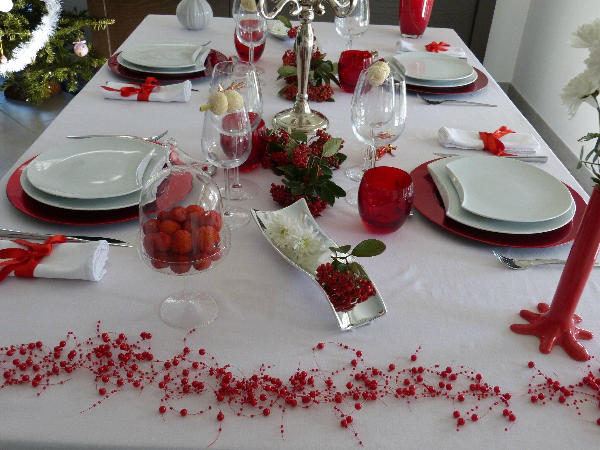 deco de table reveillon st sylvestre photos de
