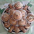 Madeleines en forme de muffins à la vanille façon chouquette, miam !