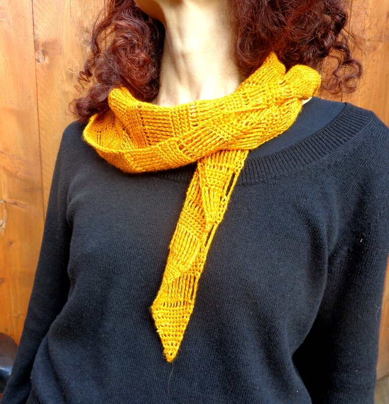 Spun Gold Shawl 3