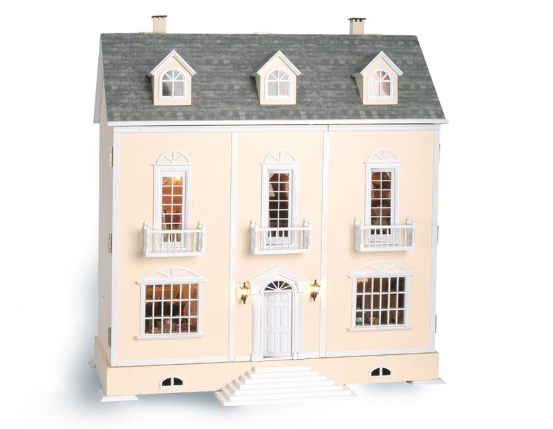 Maisons de poup es happy little manor - Construire une maison playmobil ...