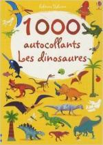 1000 autocollants Les dinosaures couv