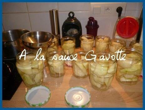 Poires au sirop en bocaux a la sauce gavotte cuisine et sant - Peut on congeler des poires ...