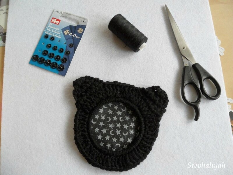 Cadre crochet chat - 2