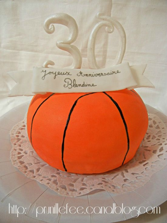 Basketball Halloween Basket