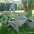 Diy brico récup' - une étoile xl en bois de palette