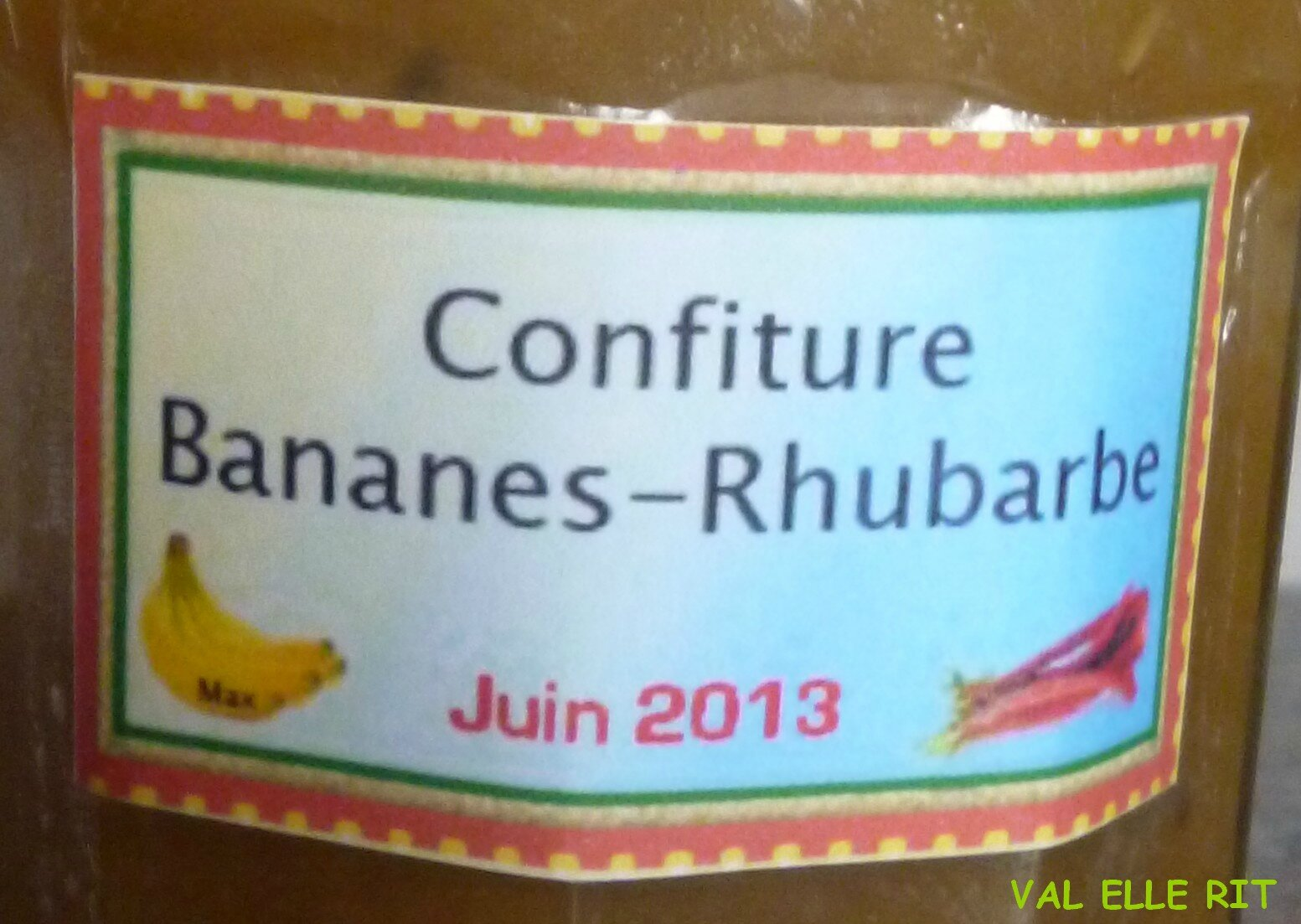 confiture rhubarbe cookeo