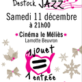 Be-bop de noël avec destock jazz