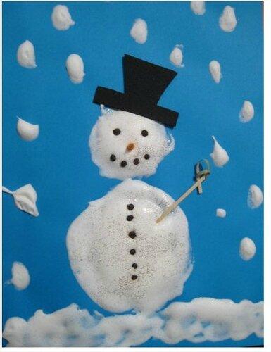 Bonhomme de neige - Maîtresse Patate
