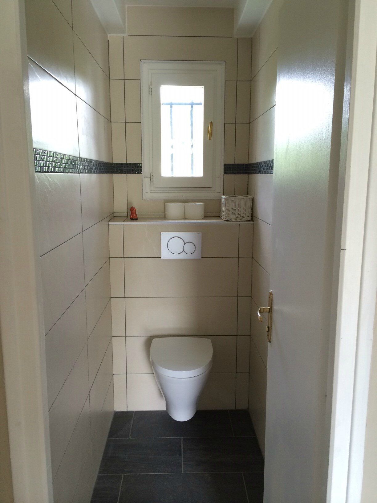 Wc suspendu carrelagebommart for Photo wc suspendu