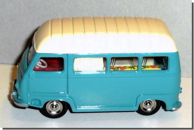 Dinky Atlas Renault Estafette Camping Car 565 A 5