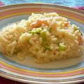 Risotto Crevettes Poireaux