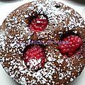 Moelleux choco-framboises au pie&co