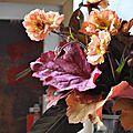 Des geum dans mes bouquets