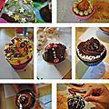 Muffins améliorés et transformés en... cupcakes