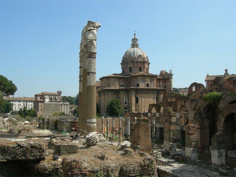Un vrai musée en plein air... trop de ruines ?