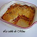 Lasagnes de paccheri au jambon à l'os
