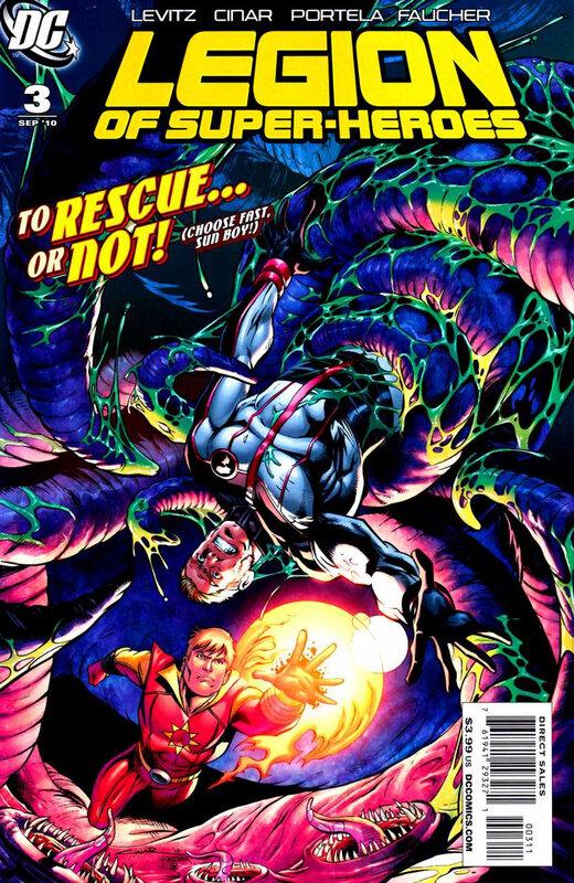 legion of super-heroes 2010 03