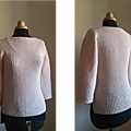 Pull rose poudre