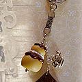 Porte-clefs religieuse e chocolat (N)