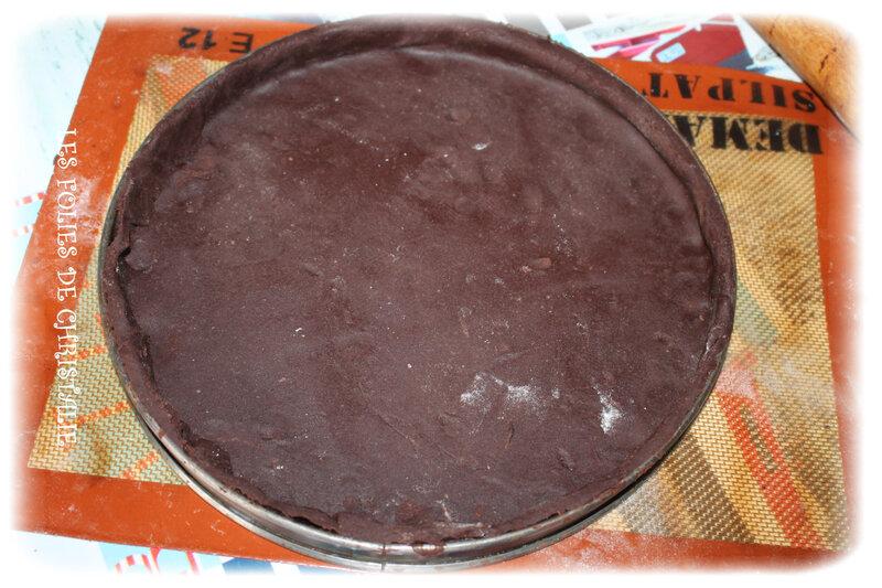 Tarte chocolat cerises 4