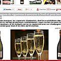 Cyril jeaunaux robin parmi les 14 meilleurs champagne de vignerons pour la revue des vins de france