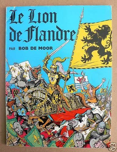 C1 - Le lion de Flandre - EO 1976 Edition Deligne
