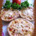 Tartelettes thon-tomates