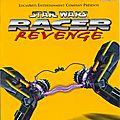 Boitier avant playstation 2 star wars racer revenge