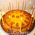 Un gâteau d' anniversaire